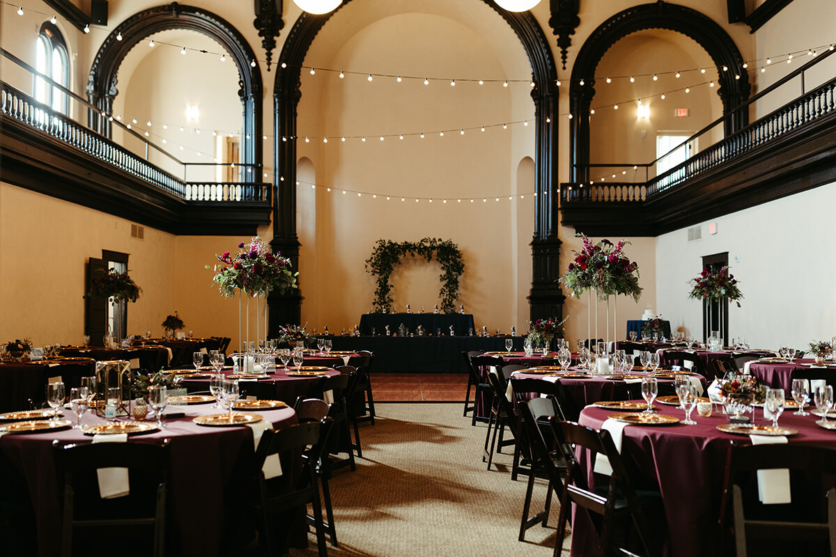 Fall Wedding at The Venue - T+J-6656