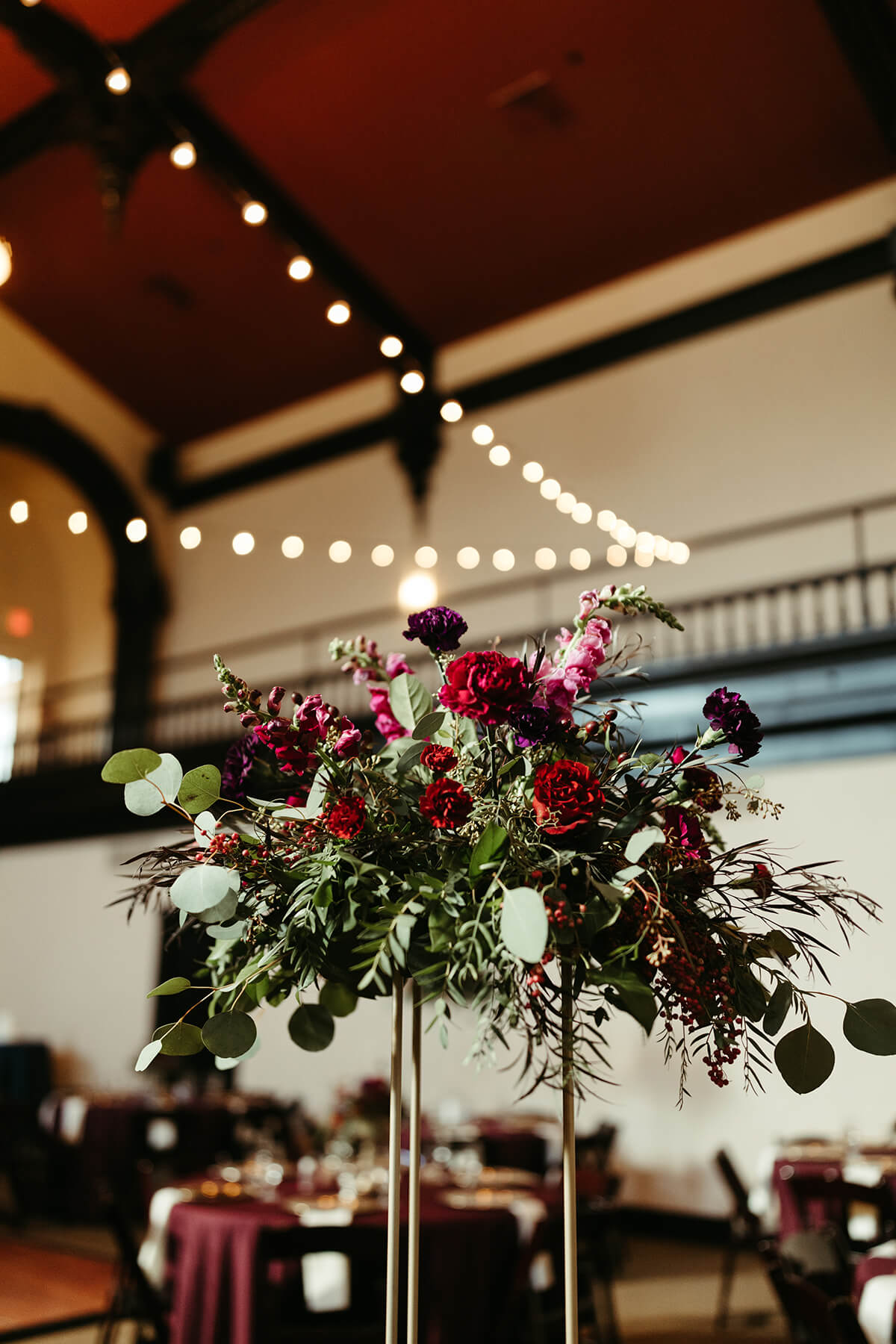 Fall Wedding at The Venue - T+J-6688