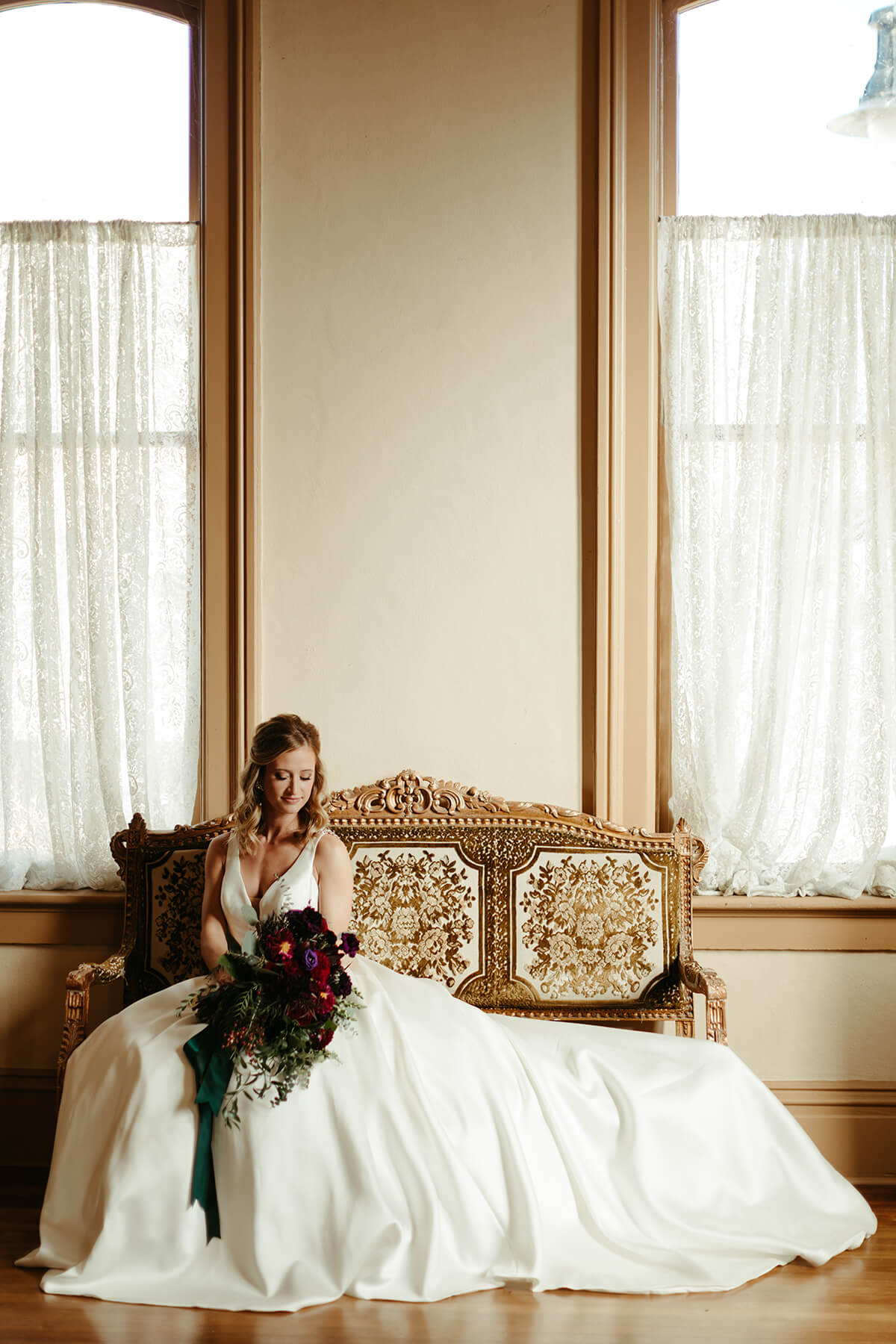 Fall Wedding at The Venue - T+J-6994