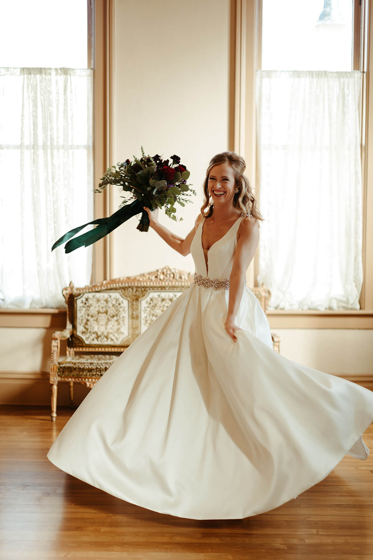 Fall Wedding at The Venue - T+J-7042