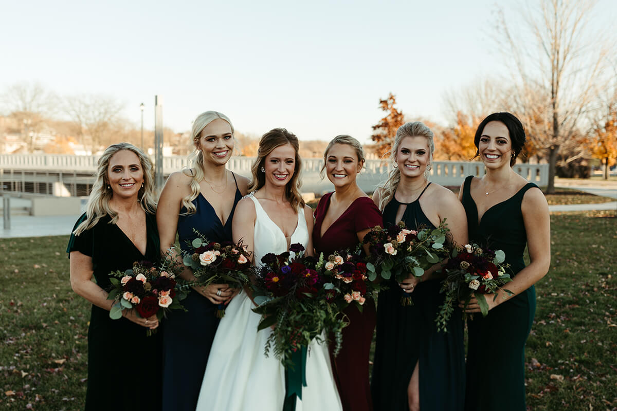 Fall Wedding at The Venue - T+J-8484
