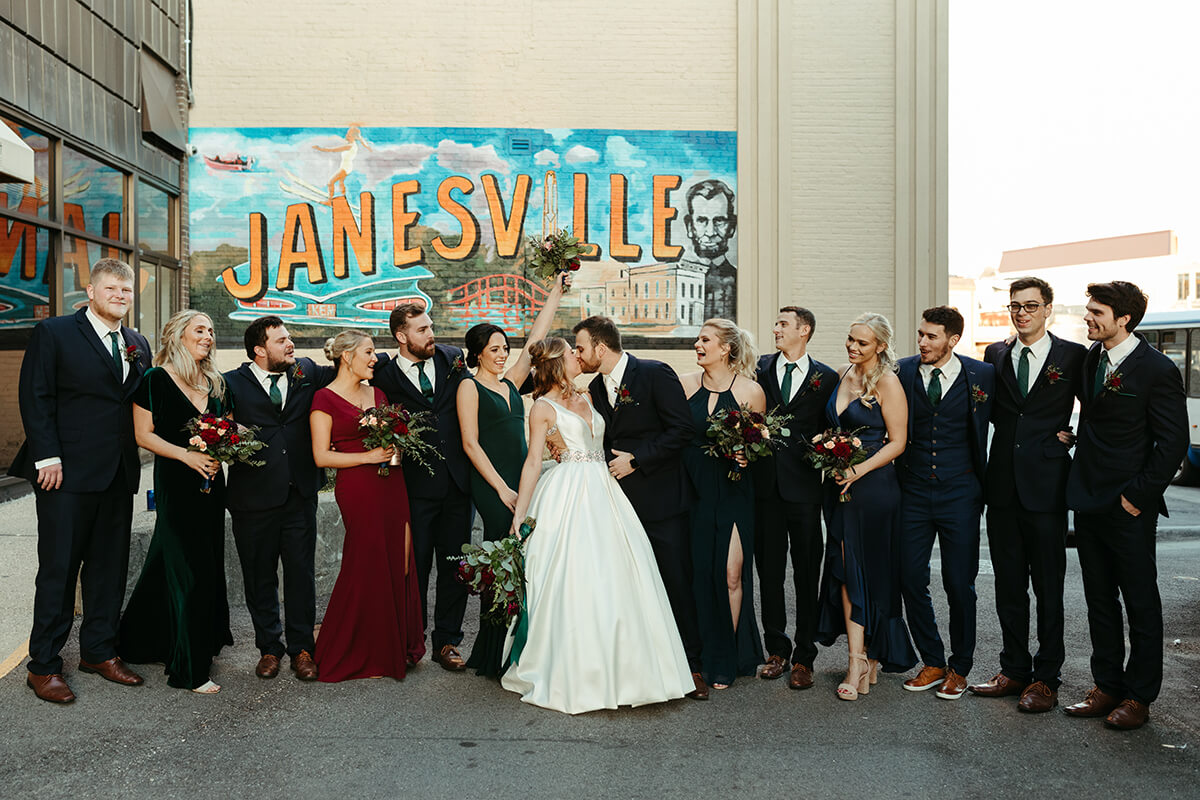 Fall Wedding at The Venue - T+J-9066