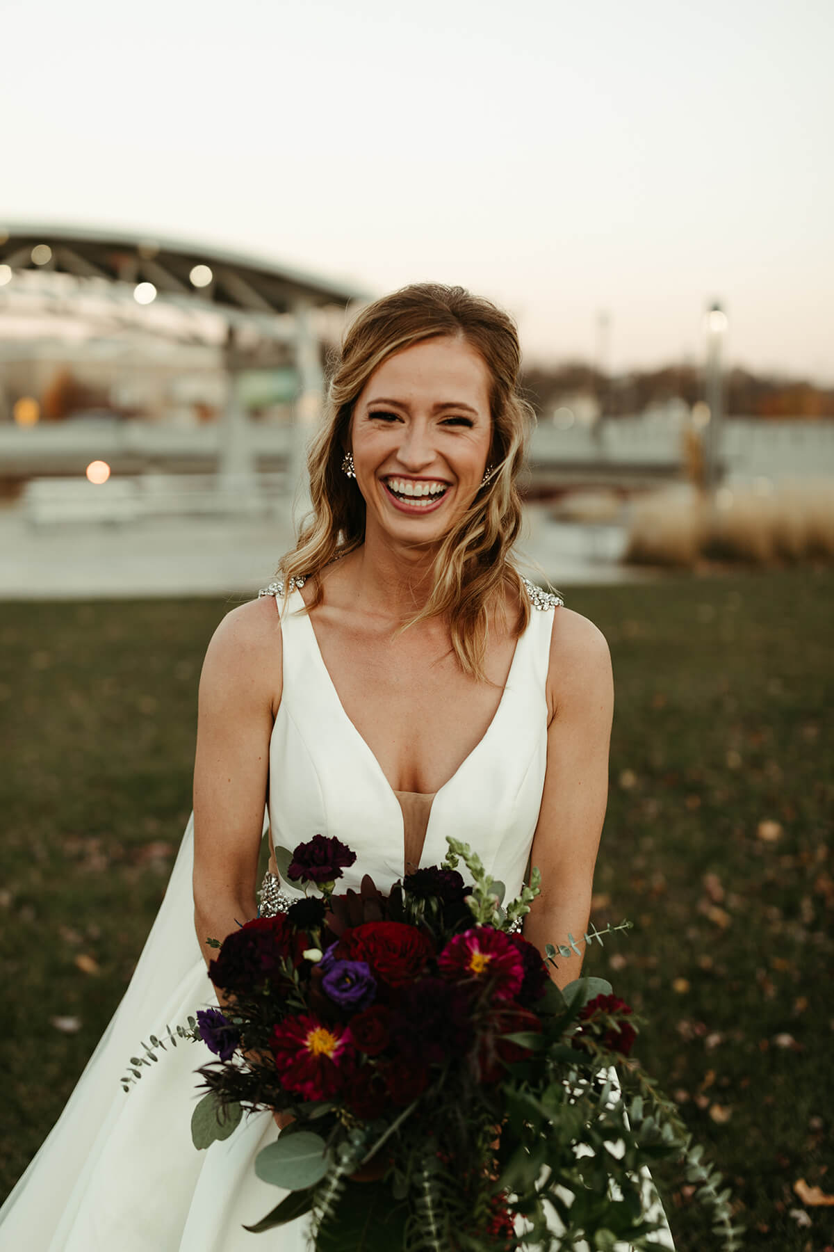Fall Wedding at The Venue - T+J-9627-2